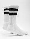 Route One Classic Crew Socks - White/Black