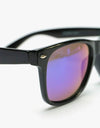 Route One Wayfarer Sunglasses - Black (Coloured Lens)