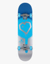 Blueprint Spray Heart Mid Complete Skateboard - 7.25