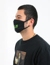 HUF OG Logo Face Mask - Black