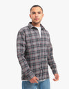 Route One Nevis Flannel Shirt - Black/Multi