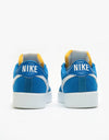 Nike SB Bruin React Skate Shoes - Team Royal/White-Team Royal-White