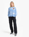 Santa Cruz Womens Kit Crew - Blue/White
