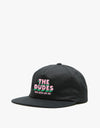 The Dudes Dudes and Shit Unstructured Cap - Black
