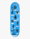 Creature Free For All 'Powerply' Skateboard Deck - 8.5