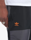 Adidas Fixed 2021 Snowboard Pants - Black/Utility Black/Signal Orange