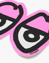 Krooked Eyes Die Cut Sticker