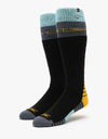 ThirtyTwo JP Signature Merino Snowboard Socks - Black