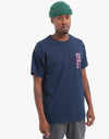 Route One Game Over T-Shirt - Navy