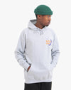 Route One La Nuit Pullover Hoodie - Heather Grey