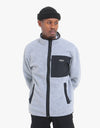 Burton Hearth Polartec® Full-Zip Fleece -  Grey Heather/Black