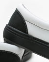 Vans BMX Slip-On Skate Shoes - (Dak) Black/White
