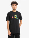Enjoi Rasta Panda T-Shirt - Black
