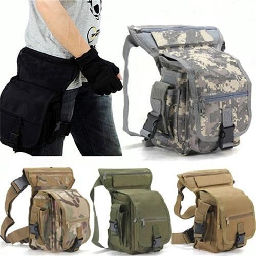 Mochila militar al muslo - Virtual Contact
