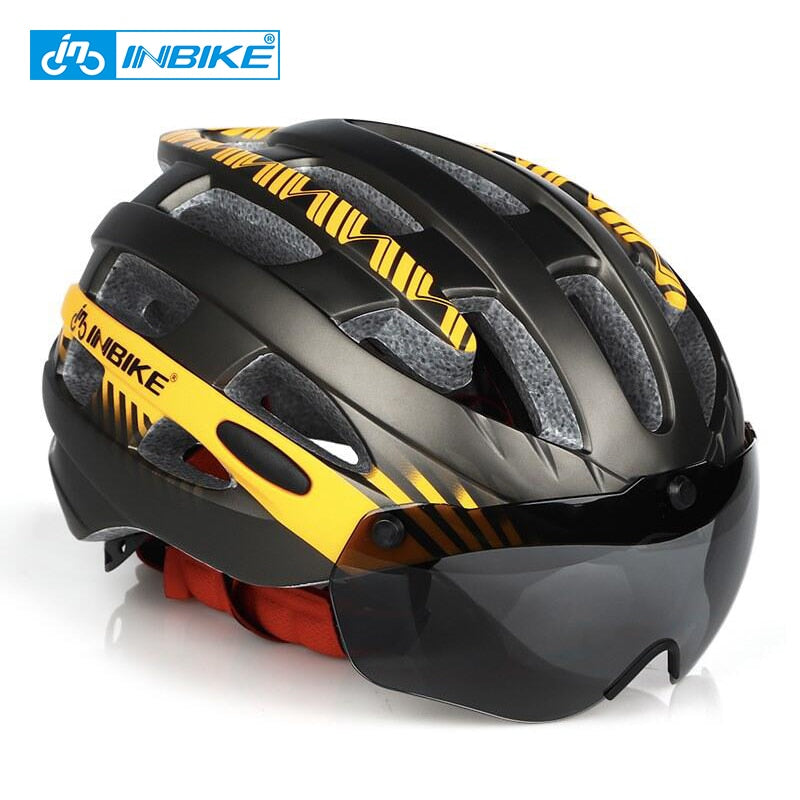 Casco profesional de ciclismo INBIKE MTB - Virtual Contact