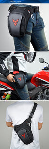 Mochila al muslo para motociclista - Virtual Contact