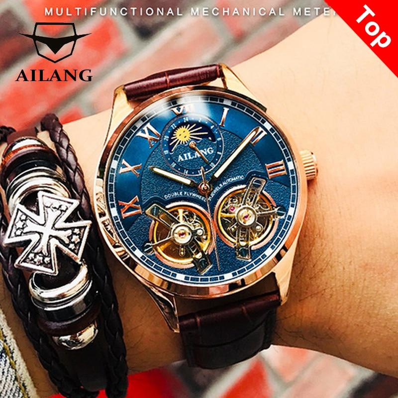 Reloj doble Tourbillon AILANG modelo 8822 - Virtual Contact