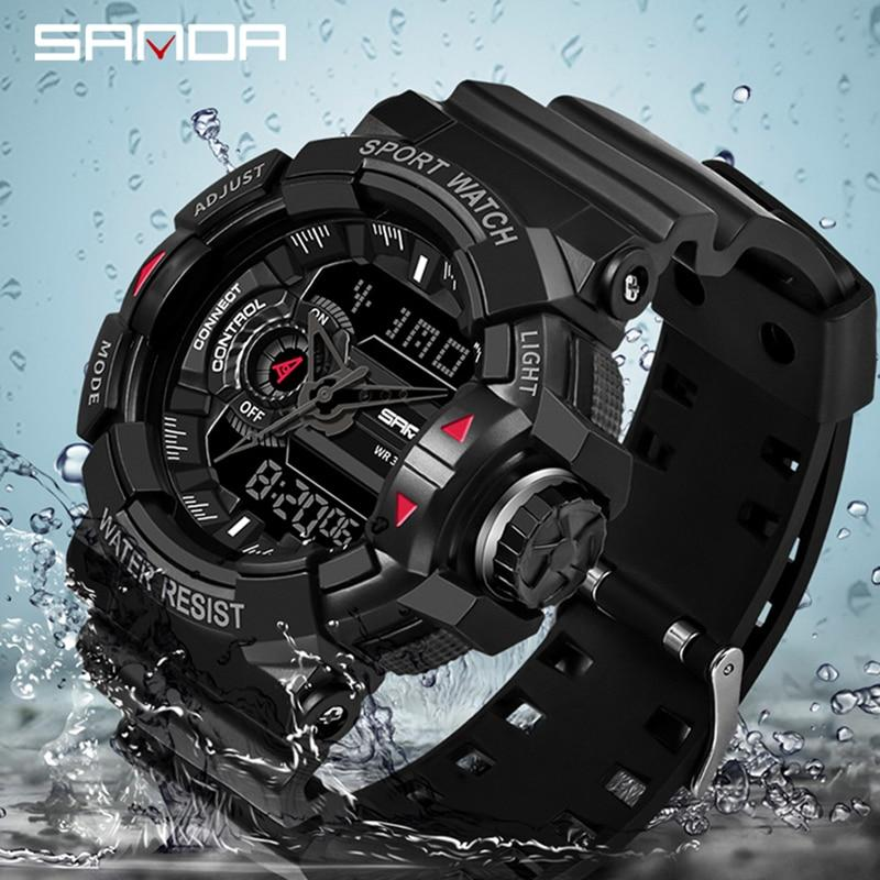 Reloj militar SANDA Modelo 599 - Virtual Contact
