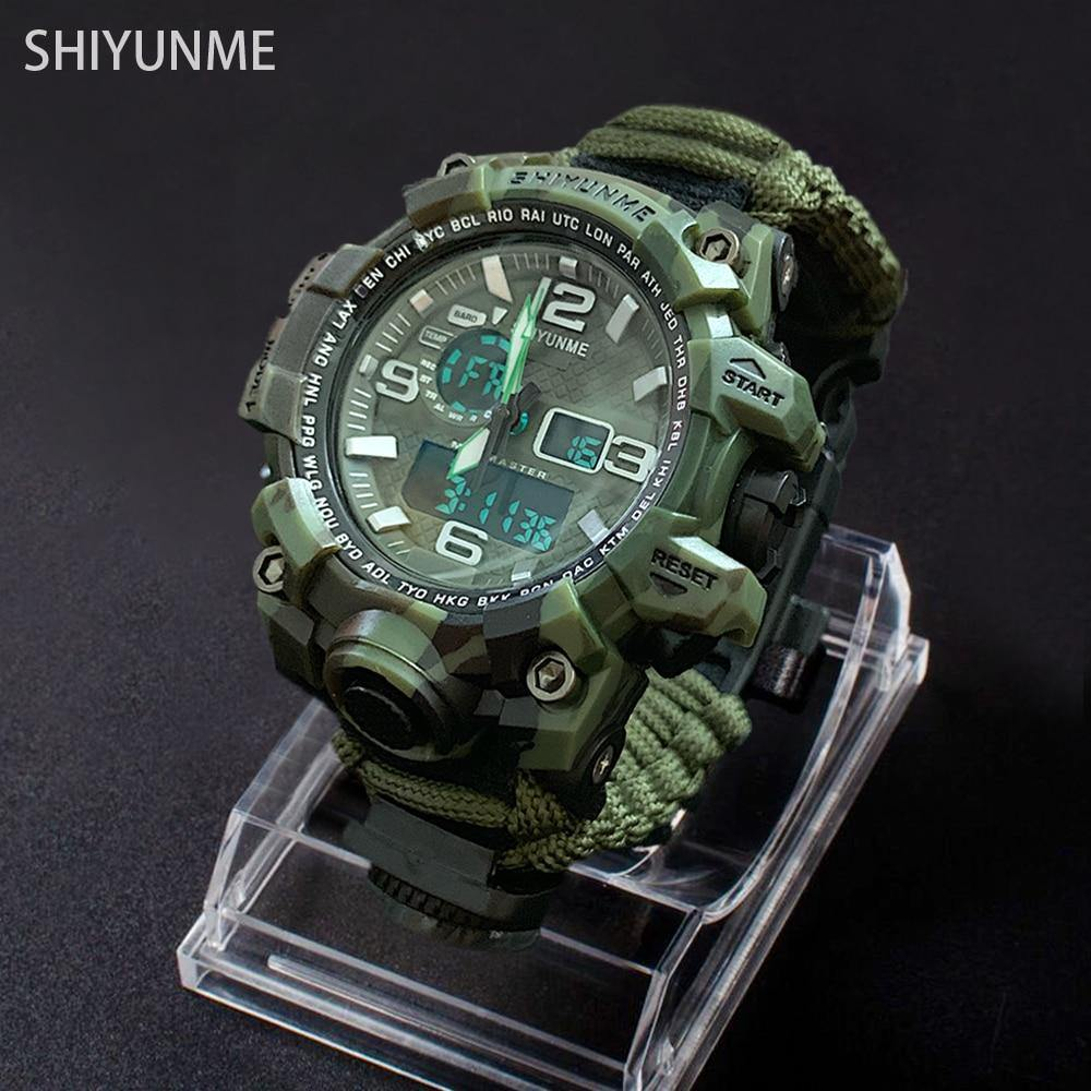 Reloj Militar y de Supervivencia Shiyunme modelo 1509D - Virtual Contact