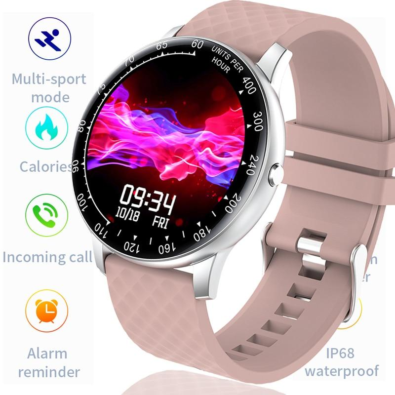 Reloj inteligente LIGE touch para mujer - Virtual Contact