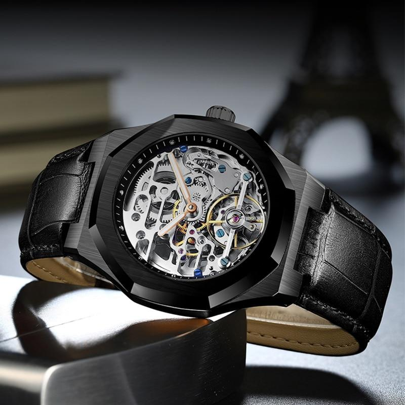 Reloj tourbillon genuino AILANG modelo 8652 - Virtual Contact