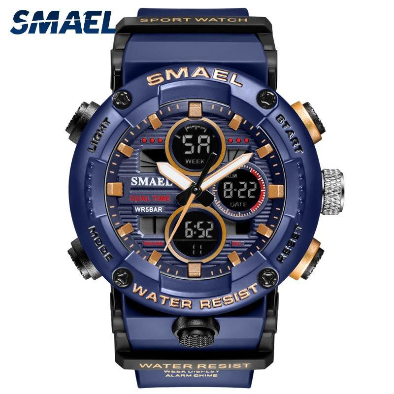 Reloj militar-deportivo SMAEL 8038 - Virtual Contact