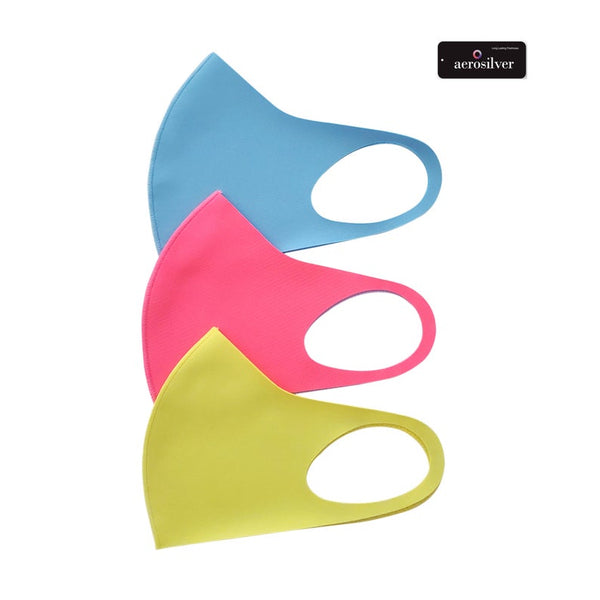 Adult Protective Washable 3D Face Mask - 10 Colors