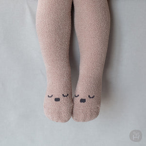 Baby Dream Winter Tights (6-24m) - Mocha