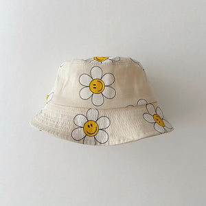 Printed Summer Bucket Hat (1-5y) - Daisy