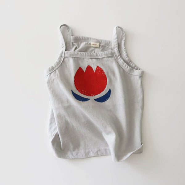 Kids Soft Cotton Cami - Tulip (1-5yrs)