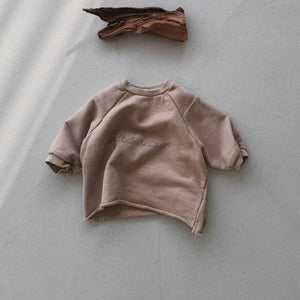 Toddler Kids Dino Sweatshirt (18m-5y) - Beige