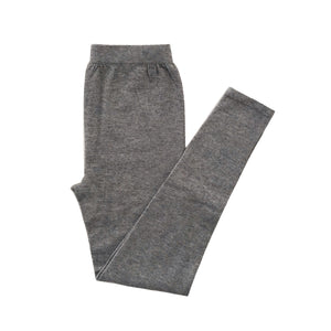 Mom's Cashmere Leggings - Heather Gray