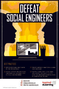 Poster & Screensaver: Defeat Social Engineers