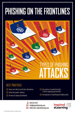 Poster & Screensaver: Phishing on the Frontlines