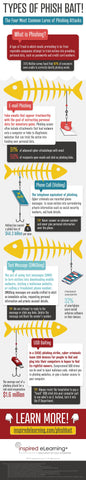 Most Common Phishing Attacks Infographic