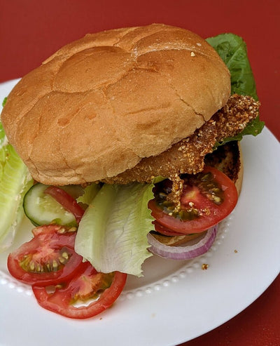 Wulf's Kitchen: The Easiest Fried (Acadian Redfish) Sandwich
