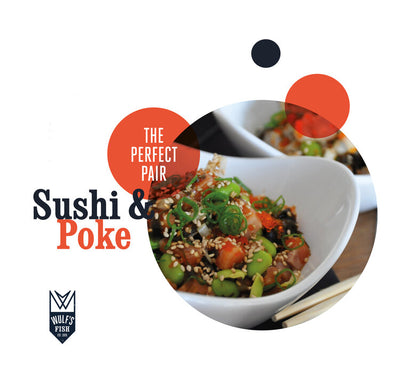 The Perfect Pair: Sushi & Poke
