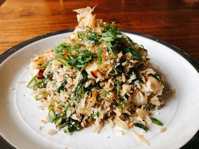 Chefs at Home: Scallop Fried Rice