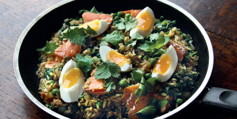 Wulf's Kitchen: A Twist on Kedgeree, The Ultimate British Comfort Food