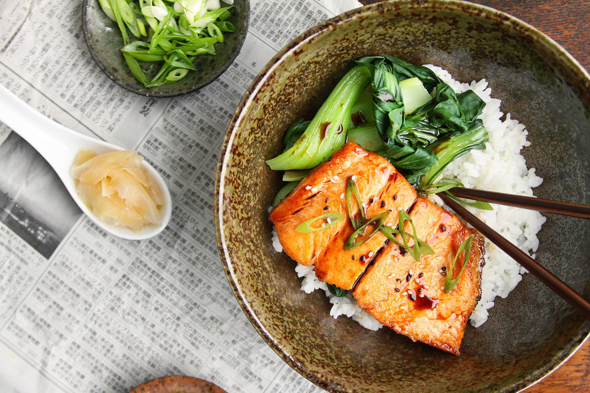 Wulf's Kitchen: Teriyaki Trout with Sesame and Scallions