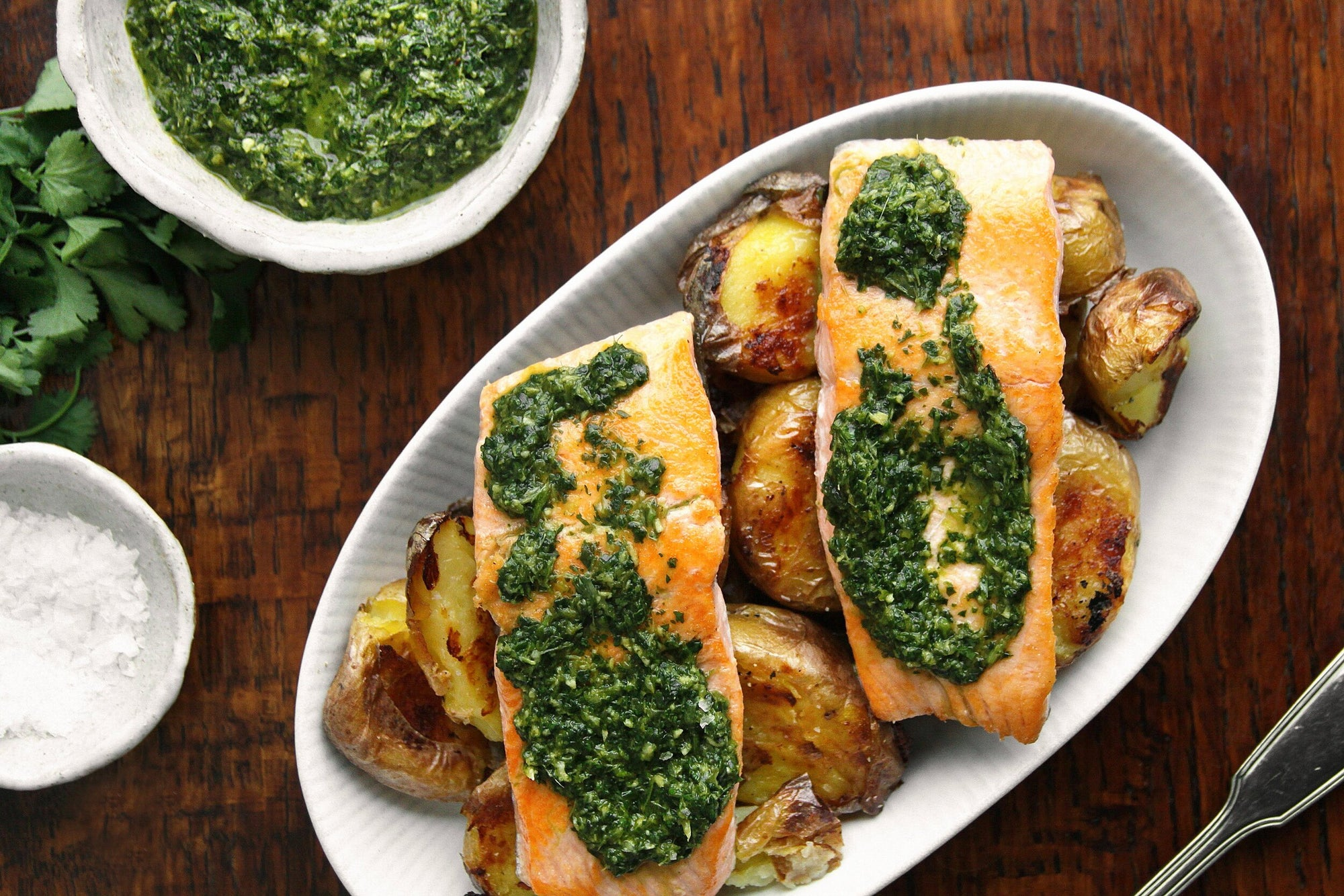 Wulf's Kitchen: Pan-Fried Trout with Ginger-Cilantro Sauce