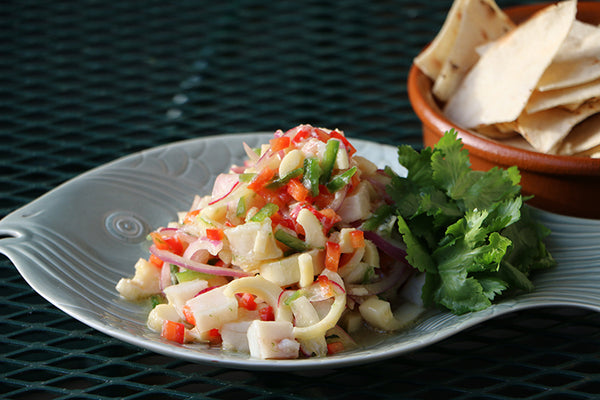red drum ceviche