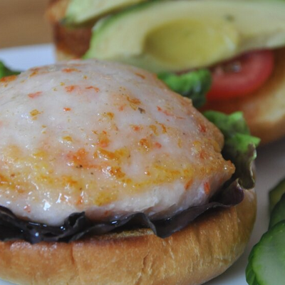 Del Pacifico Shrimp Burgers