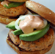 ChalkStream Trout Burgers