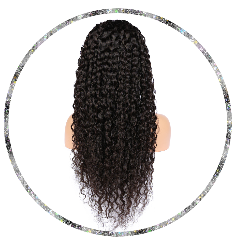 Brazilian Loose Curly 13x4 Frontal Wig
