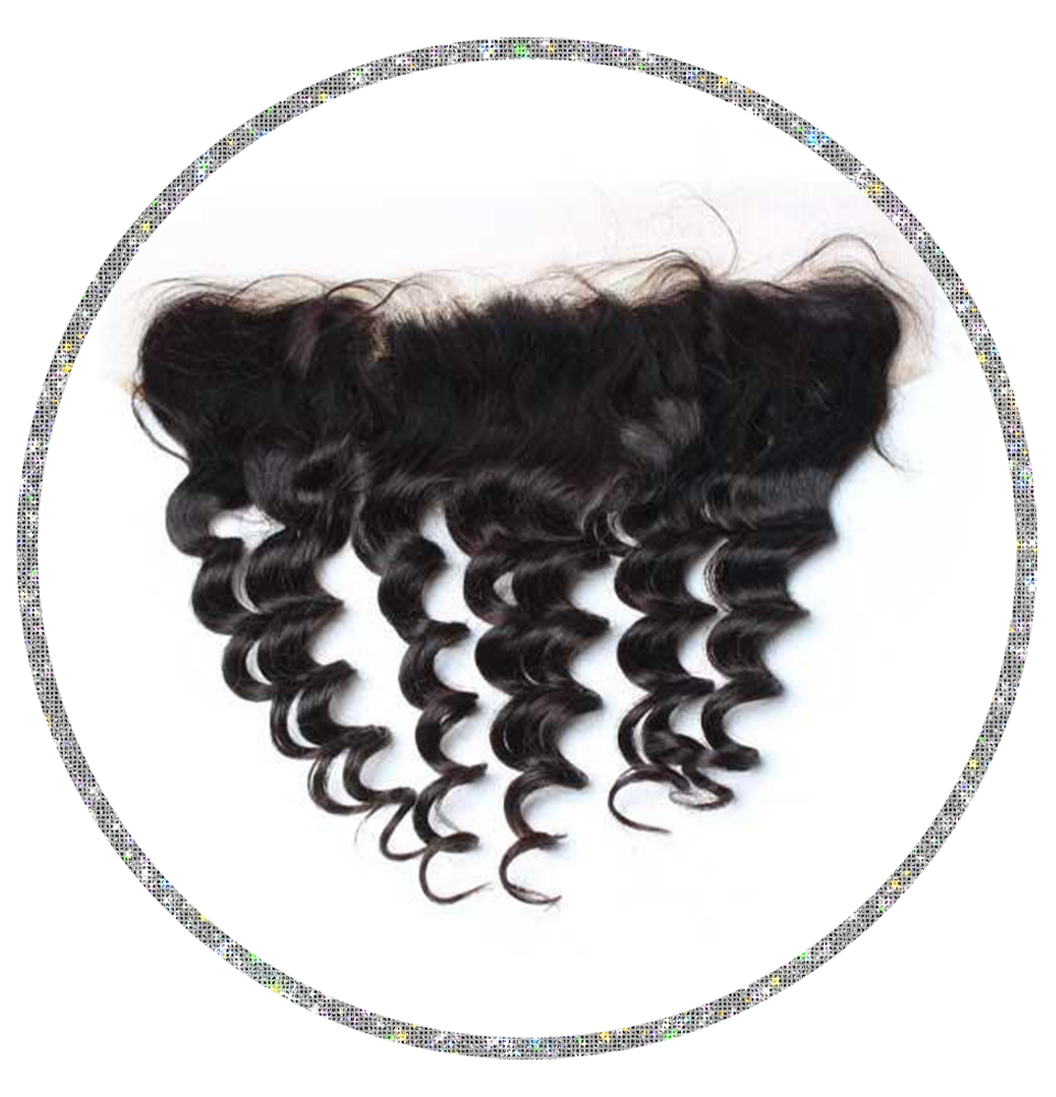 100% Virgin Loose Wave 13x6 Frontal