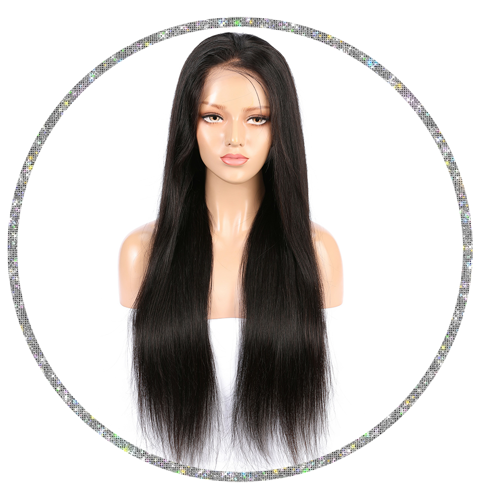 Brazilian Straight 13x4 Frontal Wig