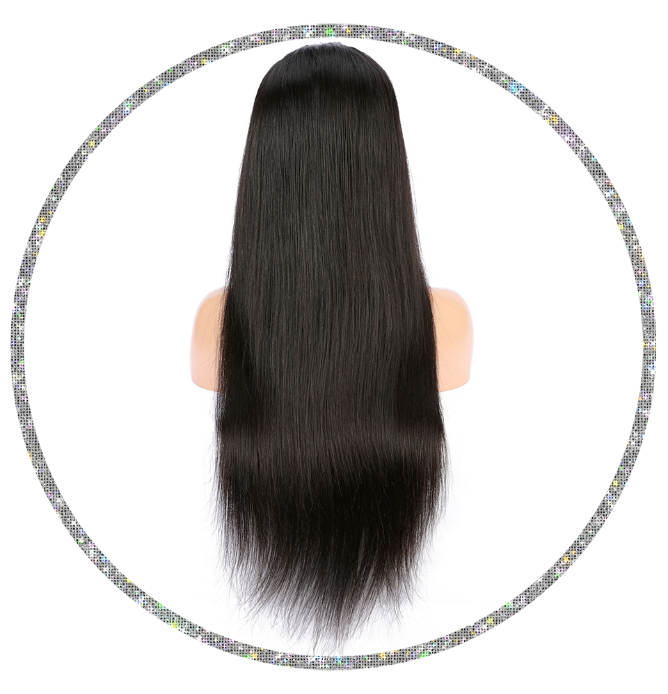 Brazilian Straight 4x4 Closure Wig