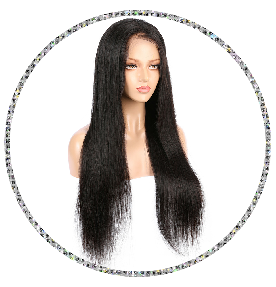 Brazilian Straight 13x6 Frontal Wig