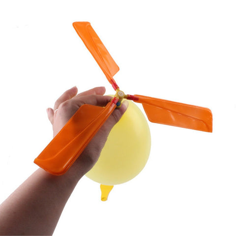 Balloon Propelled Helicopter - Maker Pal